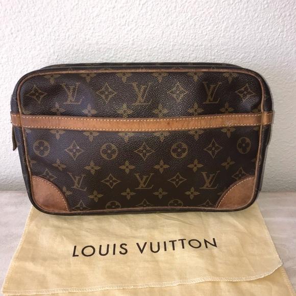 Louis Vuitton Handbags - Authentic louis vuitton cosmetics clutch bag case
